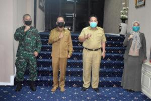 Ketua DPRD Lampung, Gubernur dan Danrem 043/Garam Pererat Sinergitas