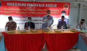 Sosper DPRD Lampung, Joko Santoso: Pendidikan Hak Warga Negara
