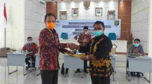 Taufik Hidayat Aklamasi Jadi Ketua APWI Lampung 2021-2025