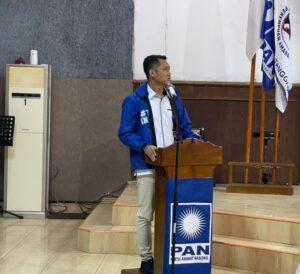 Tedi Kurniawan Kembali Terpilih Sebagai Ketua PAN Tanggamus 2020-2025, Ini Program Kerjanya