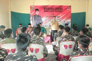 Anggota DPRD Lampung Sosialisasi Ideologi Pancasila di Dapil V