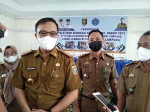 Disnaker Lampung Gelar PBK di Empat BLK